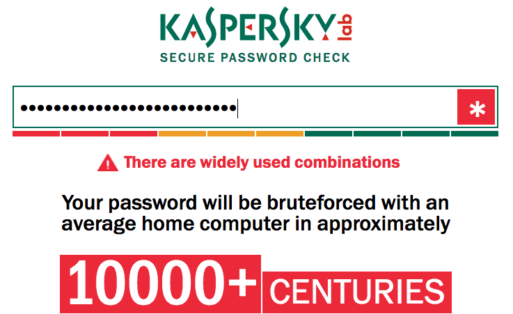 how safe is your password